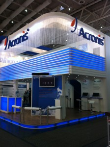 Acronis Messestand